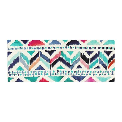 Crystal Walen Celestial Tribal Stripe Chevron Bed Runner