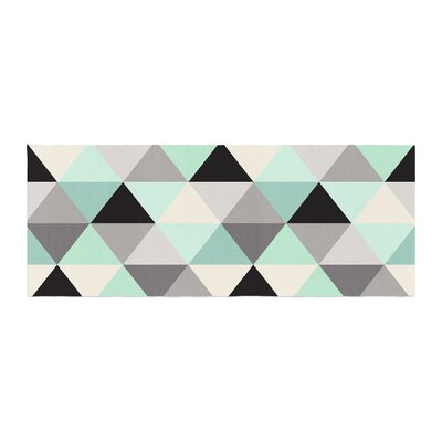 Crystal Walen Triangle Geo Bed Runner