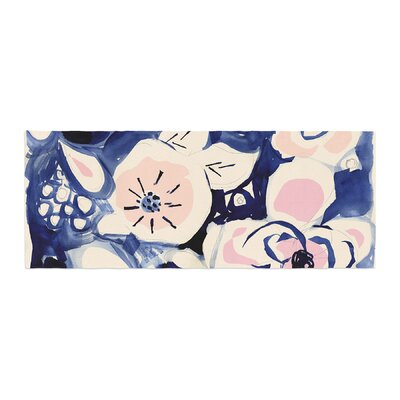 Crystal Walen Midnight Moon Flower Bed Runner