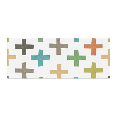 Daisy Beatrice Hipster Crosses Bed Runner