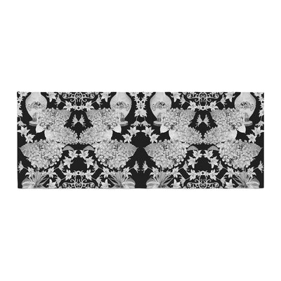 DLKG Design Versailles Bed Runner Color: Black