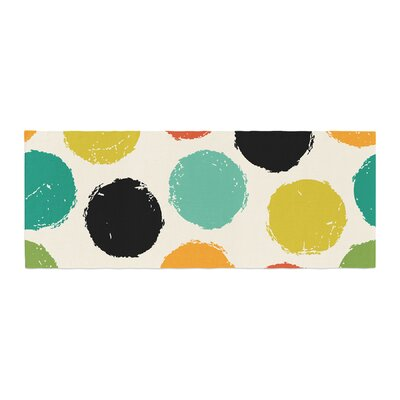 Daisy Beatrice Retro Dots Circles Bed Runner