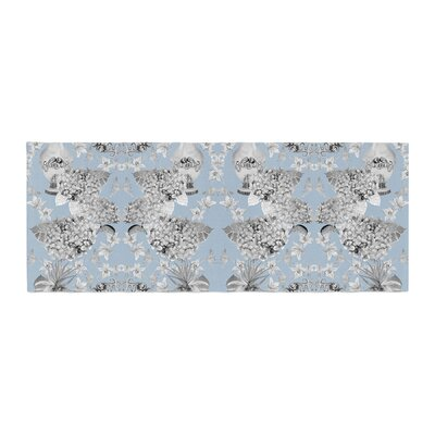 DLKG Design Versailles Bed Runner Color: Blue