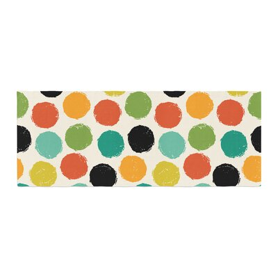 Daisy Beatrice Retro Dots Repeat Bed Runner