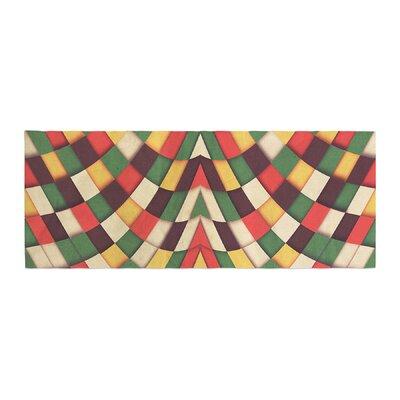 Danny Ivan Rastafarian Tile Bed Runner