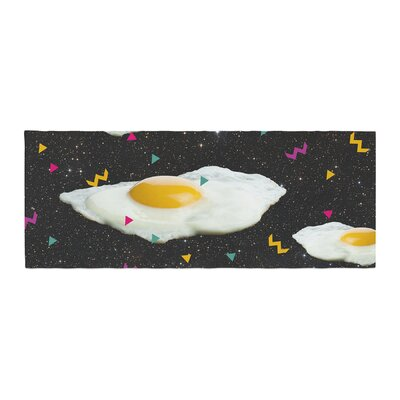 Danny Ivan Funky Egg Galaxy Space Abstract Bed Runner