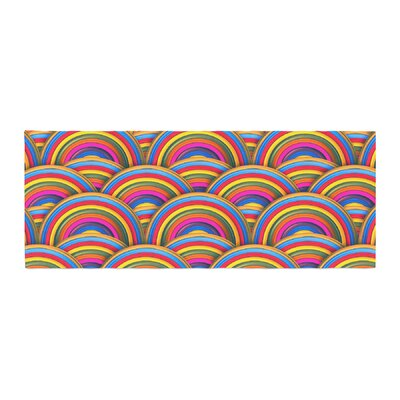 Danny Ivan Rainbows Bed Runner