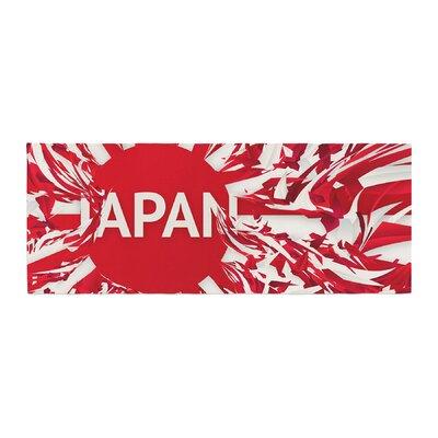 Danny Ivan Japan World Cup Bed Runner