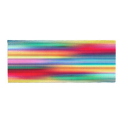 Danny Ivan Blurry Cool Bed Runner