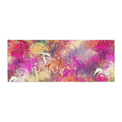 Danny Ivan Splash Abstract Bed Runner