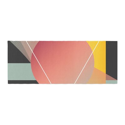 Danny Ivan Objectum Abstract Bed Runner