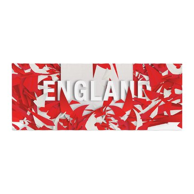 Danny Ivan England World Cup Bed Runner