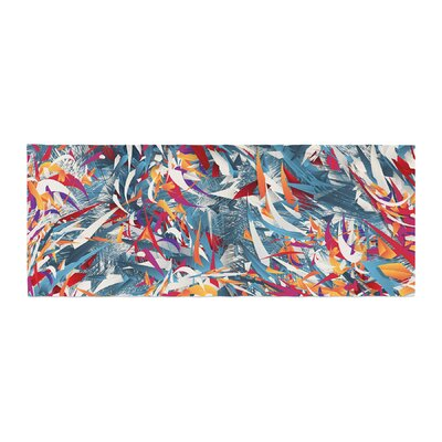 Danny Ivan Excited Abstract Bed Runner