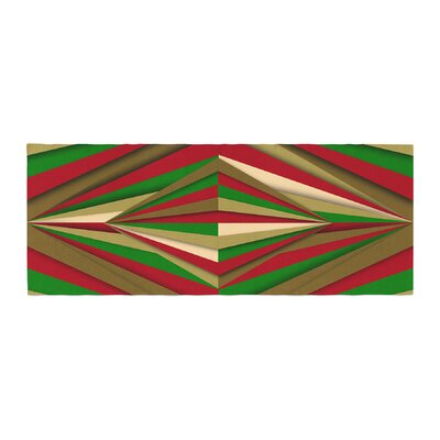 Danny Ivan Christmas Pattern Bed Runner