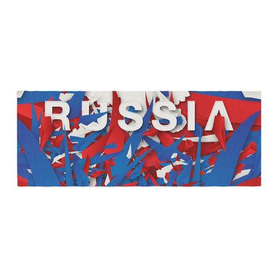 Danny Ivan Russia World Cup Bed Runner