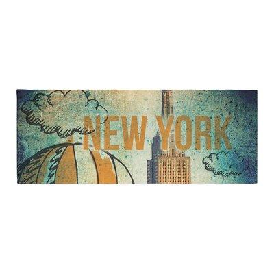 iRuz33 New York Bed Runner