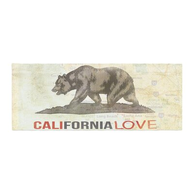 iRuz33 Cali Love Bed Runner