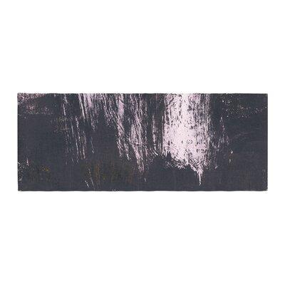 Iris Lehnhardt Brushstrokes 1 Abstract Bed Runner