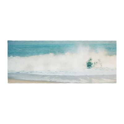 Ingrid Beddoes Ocean Wave Bed Runner
