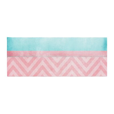 Ingrid Beddoes Light Chevron Bed Runner