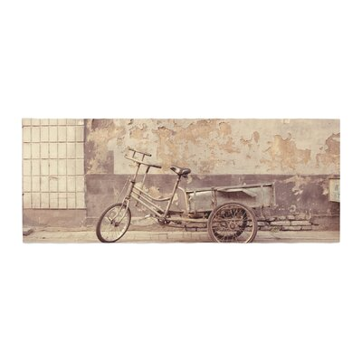 Jillian Audrey The Bicycle Photography Bed Runner