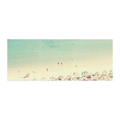 Ingrid Beddoes Happy Summer Beach Bed Runner