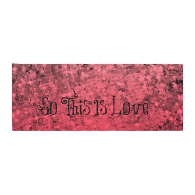Ebi Emporium So This Is Love Glitter Bed Runner