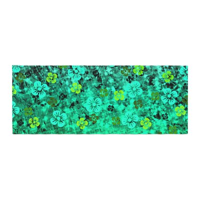 Ebi Emporium Luck of the Irish Floral Bed Runner