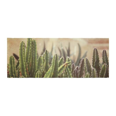 Jillian Audrey Grass Cactus Bed Runner