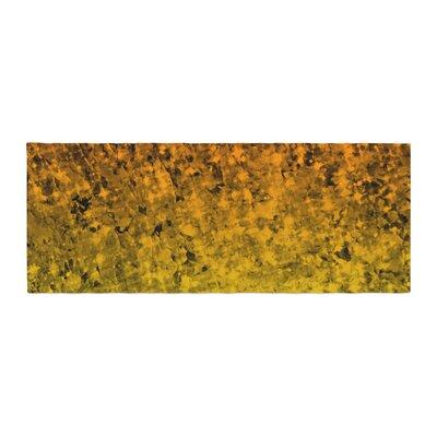 Ebi Emporium Romance Me Glitter Bed Runner Color: Tangerine