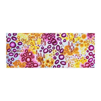Ebi Emporium Circular Persuasian Bed Runner Color: Purple
