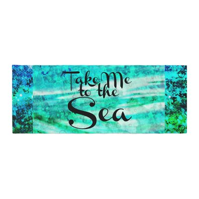 Ebi Emporium Take Me to the Sea Glitter Bed Runner
