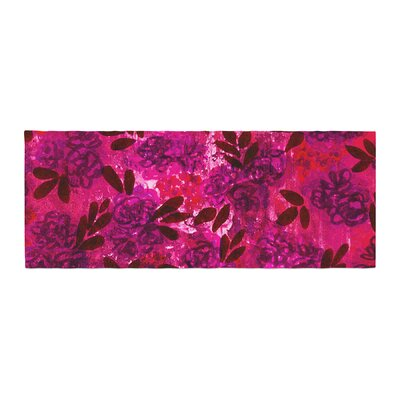 Ebi Emporium Grunge Flowers IV Bed Runner