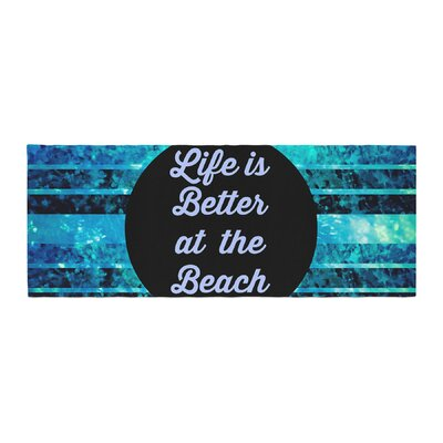 Ebi Emporium Life is Better at the Beach Bed Runner