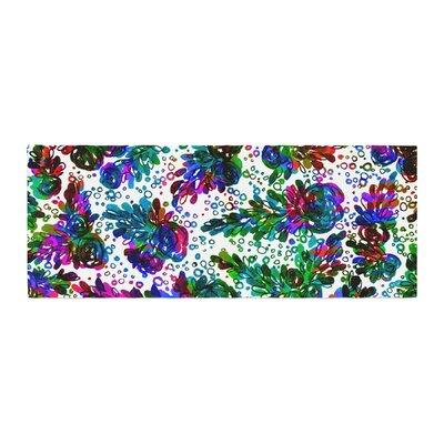 Ebi Emporium Prismatic Posy II Floral Bed Runner