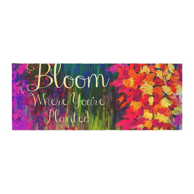 Ebi Emporium Bloom Where Youre Planted Floral Bed Runner