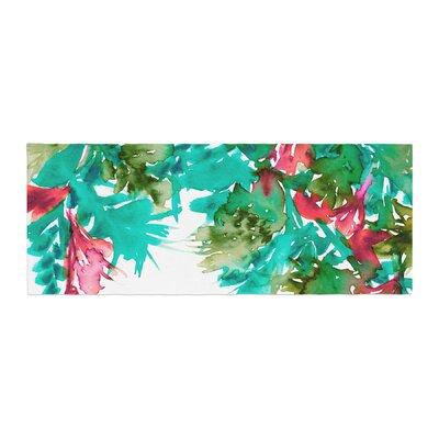 Ebi Emporium Floral Cascade 7 Bed Runner