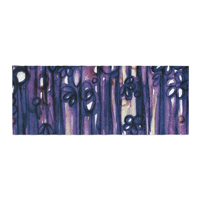 Ebi Emporium Winter Garden Bed Runner Color: Violet