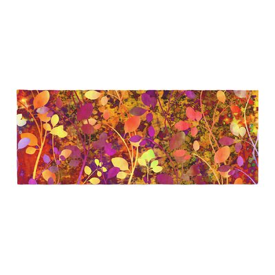 Ebi Emporium Amongst the Flowers - Warm Sunset Bed Runner