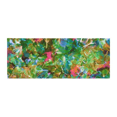 Ebi Emporium Bloom On! Tropical Bed Runner