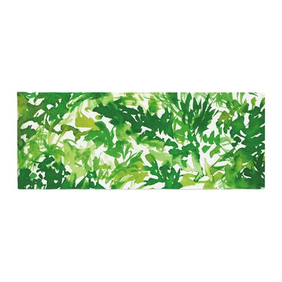 Ebi Emporium In the Meadow 1 Abstract Painting Bed Runner