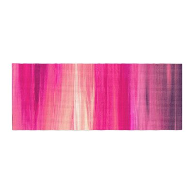 Ebi Emporium Irradiated Fuchsia Bed Runner