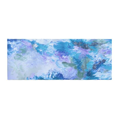 Ebi Emporium When We Were Mermaids 15 Watercolor Bed Runner