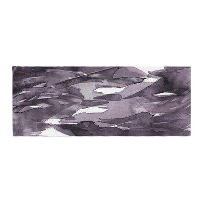 Ebi Emporium Fervor 9 Watercolor Bed Runner