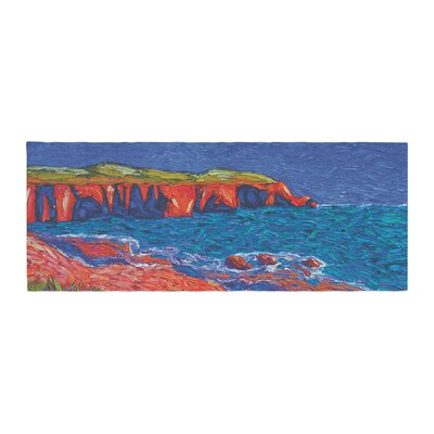 Jeff Ferst Sea Shore Coastal Painting Bed Runner