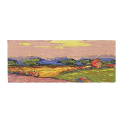 Jeff Ferst Pastoral View Painting Bed Runner