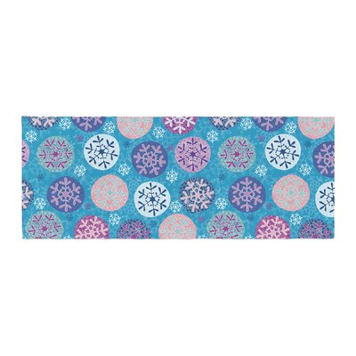 Julia Grifol Floral Winter Bed Runner