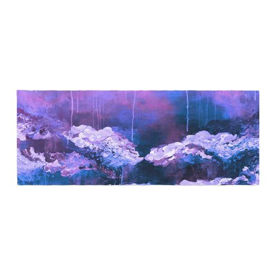 Ebi Emporium Its a Rose Colored Life 7 Painting Bed Runner