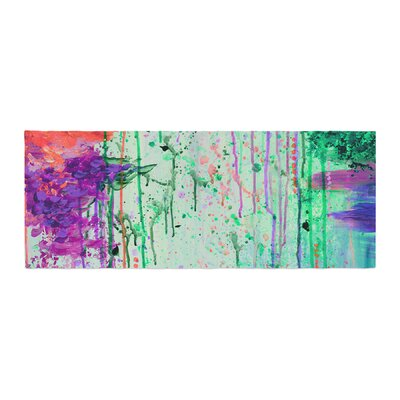 Ebi Emporium The 90s Throwback Painting Bed Runner