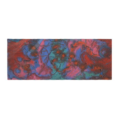 Jeff Ferst Koi Pond Painting Bed Runner